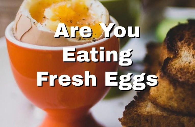 How to Tell if You're Eating Fresh Eggs