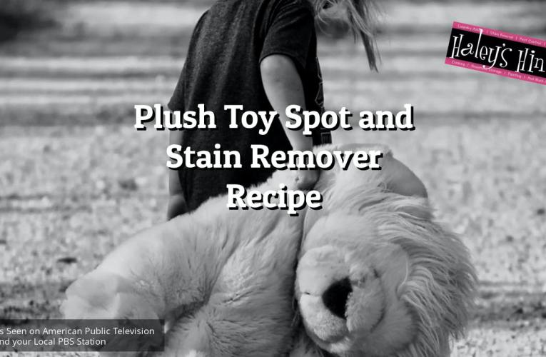 Plush Toy Spot and Stain Remover