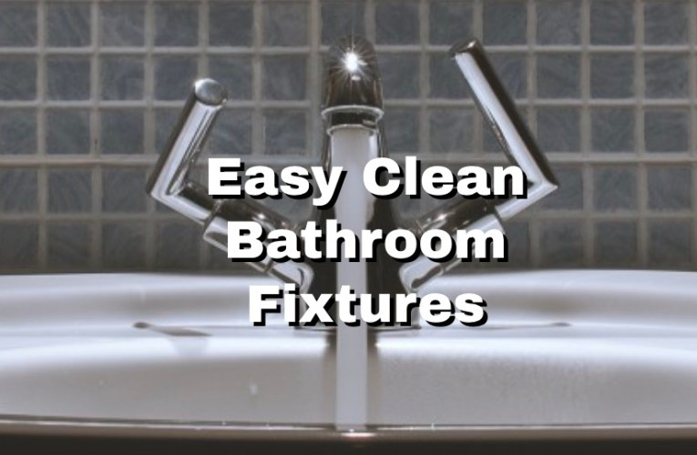 Clean Bathroom Fixtures for Pennies without Expensive Cleaners