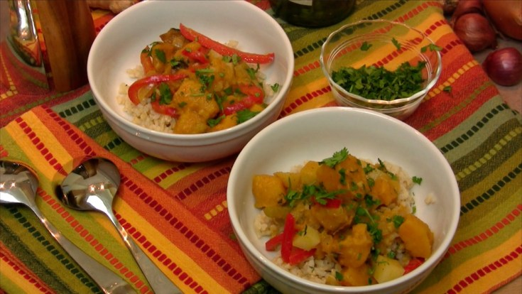 Thai Red Curry with Kabocha Squash 1