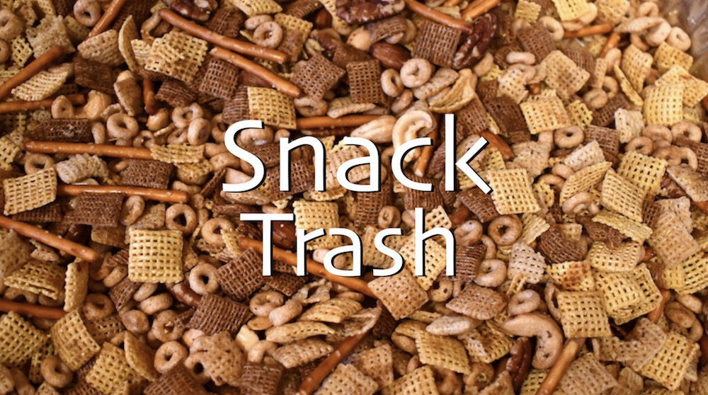 Irresistible Snack Trash Party Mix 1