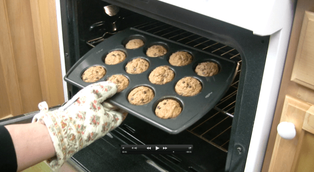 muffin pan to oven