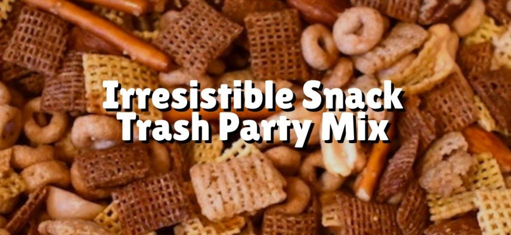 snack trash party mix photo