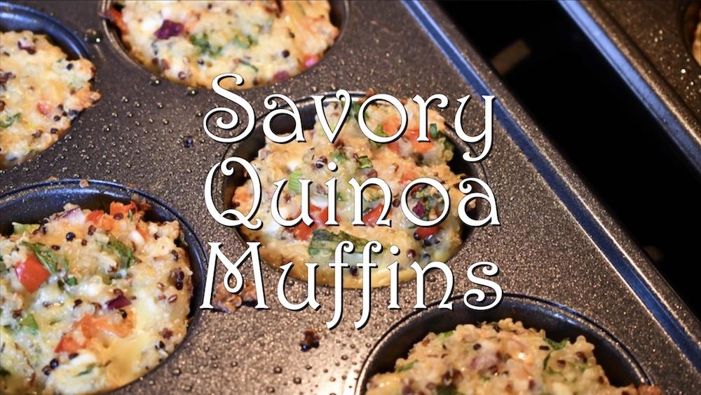 Savory Quinoa Muffins 1
