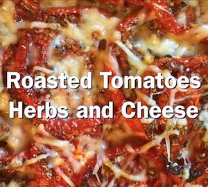 Roasted Tomatoes with Herbs and Cheese