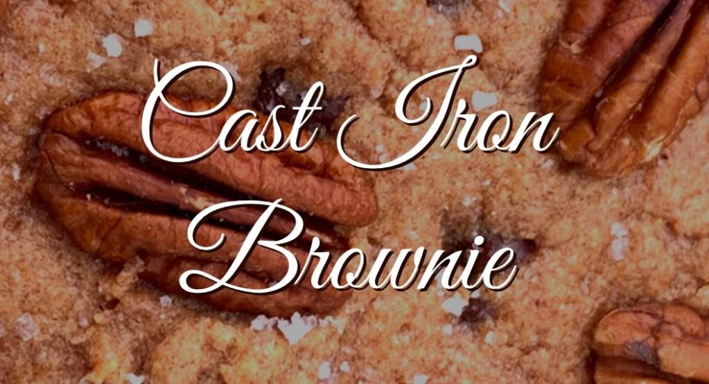 cast iron brownie