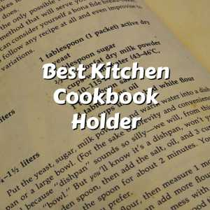 open cookbook page