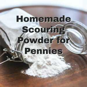 jar of scouring powder