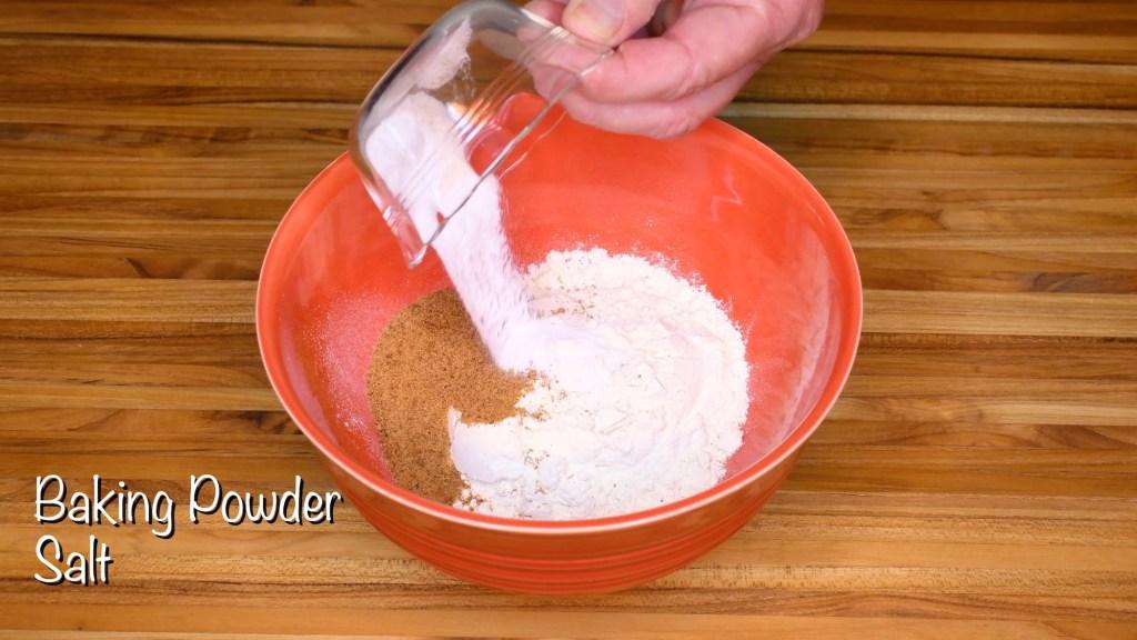 baking powder and salt