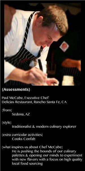 Chef McCabe - Delicias