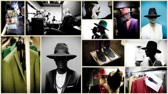 Oz Collages  - Photos: Jimmy Hansen | Backstage Photos: Arteh Odjidja