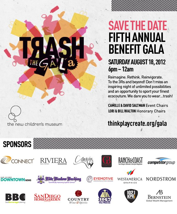 Trash The Gala Save the Date!