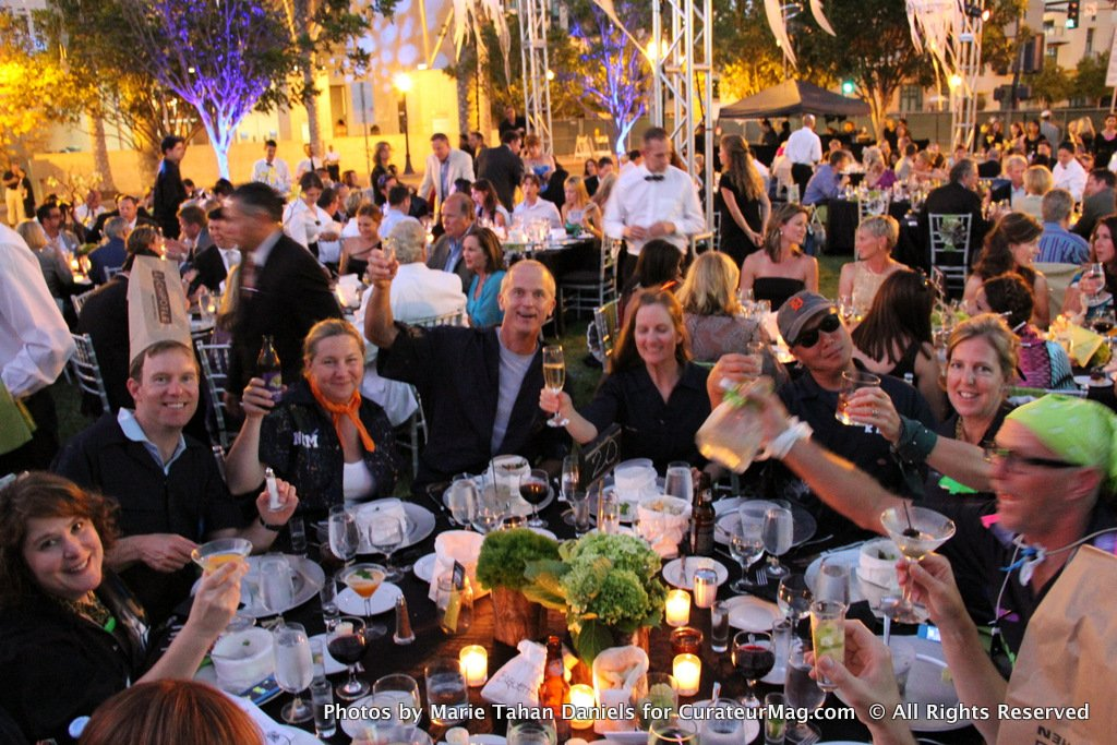 Tequila! Cheers from the Fun Table at the NCM's Trash the Gala 2012