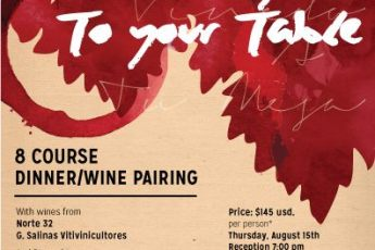 """""""From Farm & Vineyard to Your Table"""" Flyer"""
