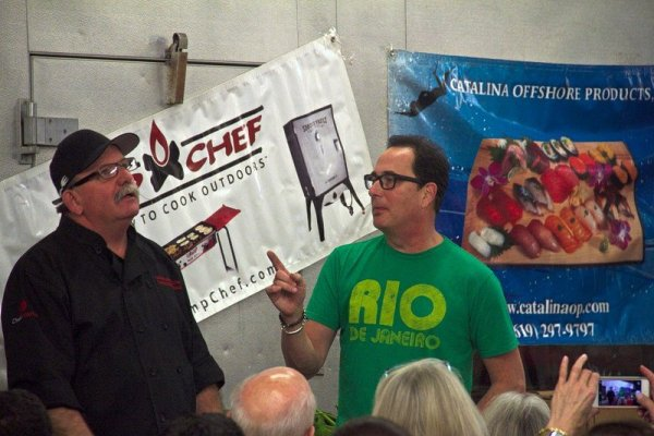 san diego food and lifestyle, chefs, sam the cooking guy, tommy gomes, collaboration kitchen