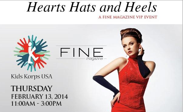 Hats Hearts and Heels , San Diego charity, philanthropy, lena evans, joani wafer, kids korps