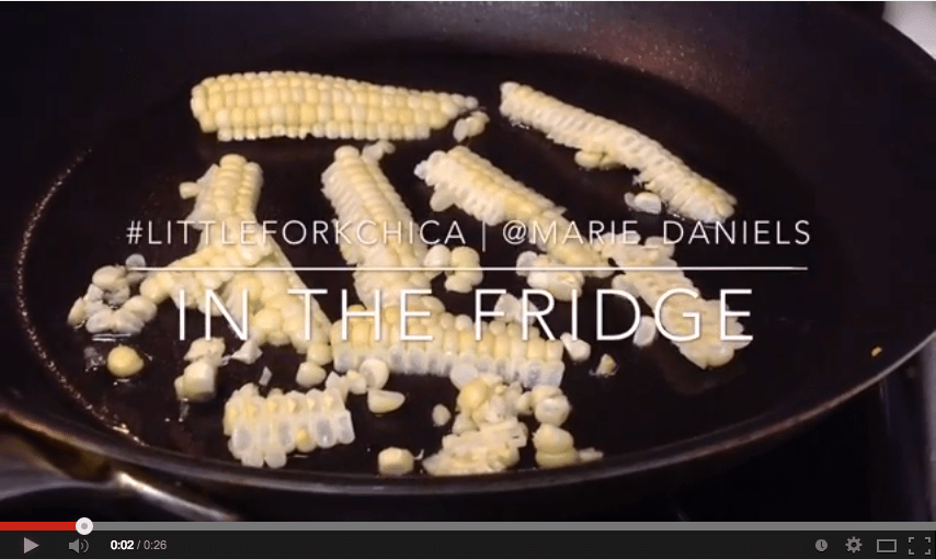 In the Fridge | Leftover Summer Corn, recipes, san diego, dining, cooking, home cooks, little fork chica