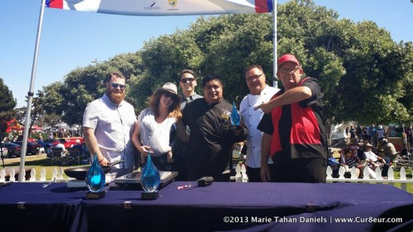 Dining San Diego, La Jolla Dining, Cur8eurEats, Chef Mario Medina and the SeafoodFest Judges