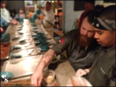 Chef Chad White, Chef Craig Jimenez