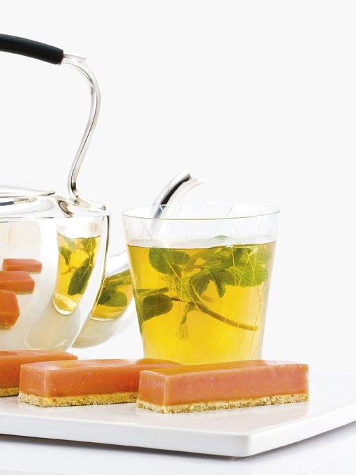 Chef Bernard - Hibiscus Lemon Bar & Tea