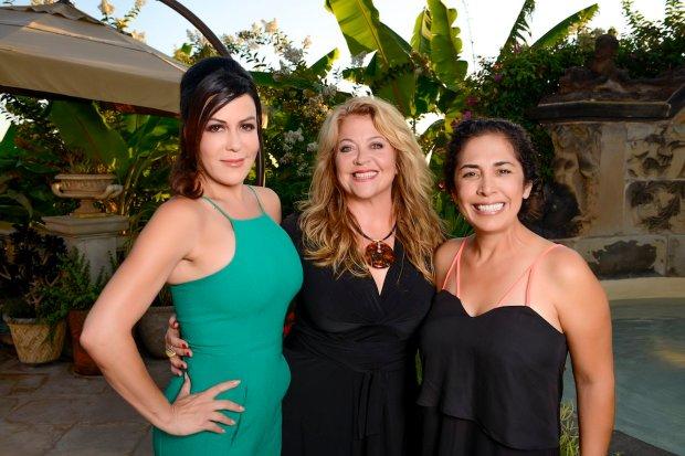 Michelle Lerach, Chef Flor Franco, Yolanda Walther-Meade