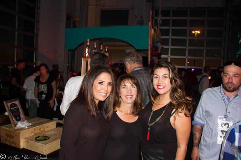 Honorary Chair Flor Franco, Restaurateur Trish Watlington & A Gal & Her Fork Marie Daniels