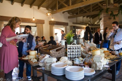 The fresh cheeses, breads & marmelades