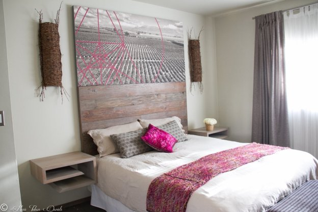 The beautiful rooms are all equipped with en suite bathrooms