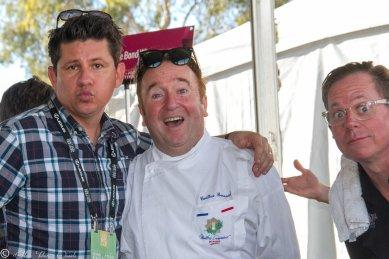 Troy Johnson, Chef Bernard Guillas