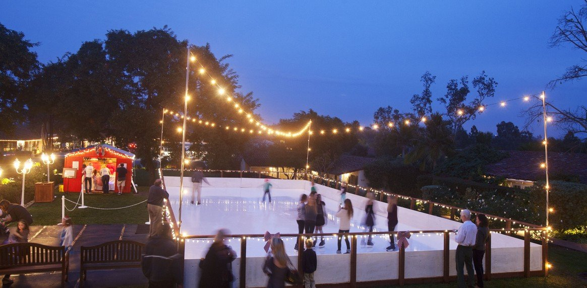 the inn at rancho santa fe ice skating rink