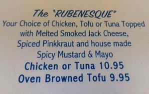 the Rubenesque, sandwich, California's Table, North Park