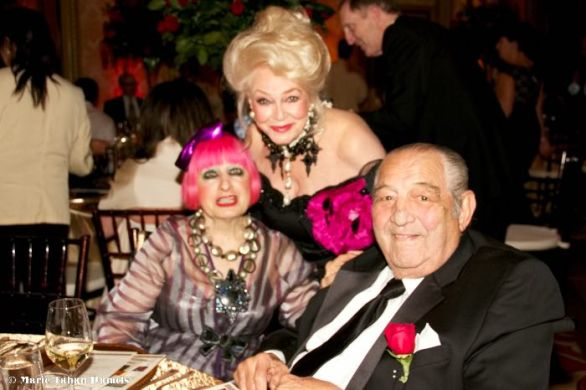 Zandra Rhodes, Phyllis Parrish, Salah Hassanein, Arc of San Diego, San Diego Charity, San Diego Events