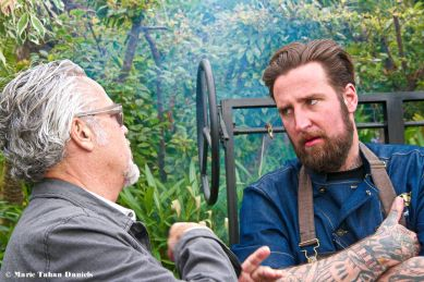 Chefs Andrew Spurgin and Rob Ruiz