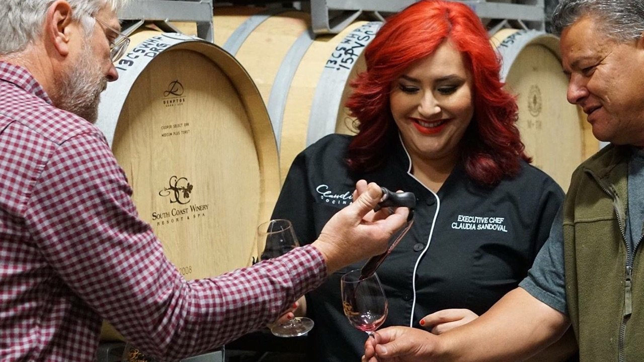 Chef Cladia Sandoval, South Coast Winery, Temecula California