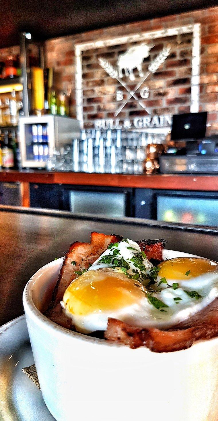 Marie's Breakfast Mac & Cheese - Off menu, Bull and Grain, Hillcrest, San Diego