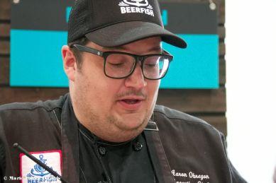 Chef Aaron Obregon, Beerfish