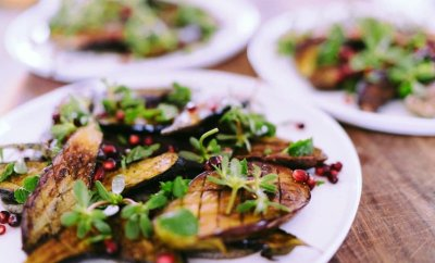 Eggplant Salad from The MED at La Valencia Hotel