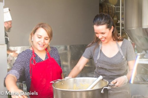 Adria Marina, Top Chef Mexico, baja chefs, baja chef network, bitter brothers brewing, san diego, charity event, feeding san diego