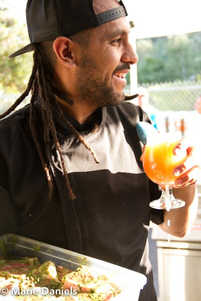 Oso Campos, Tras Horizonte, kokopelli, baja chefs, baja chef network, bitter brothers brewing, san diego, charity event, feeding san diego