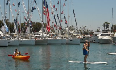 San Diego International Boat Show, super yacht, boating, sailing, San Diego Bay,