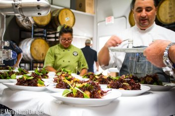Chef Anthony Pascale, Saiko Sushi, Feeding San Diego, Bitter Brothers Brewing Company, San Diego Brewery, Charity Dinner, Chef Network