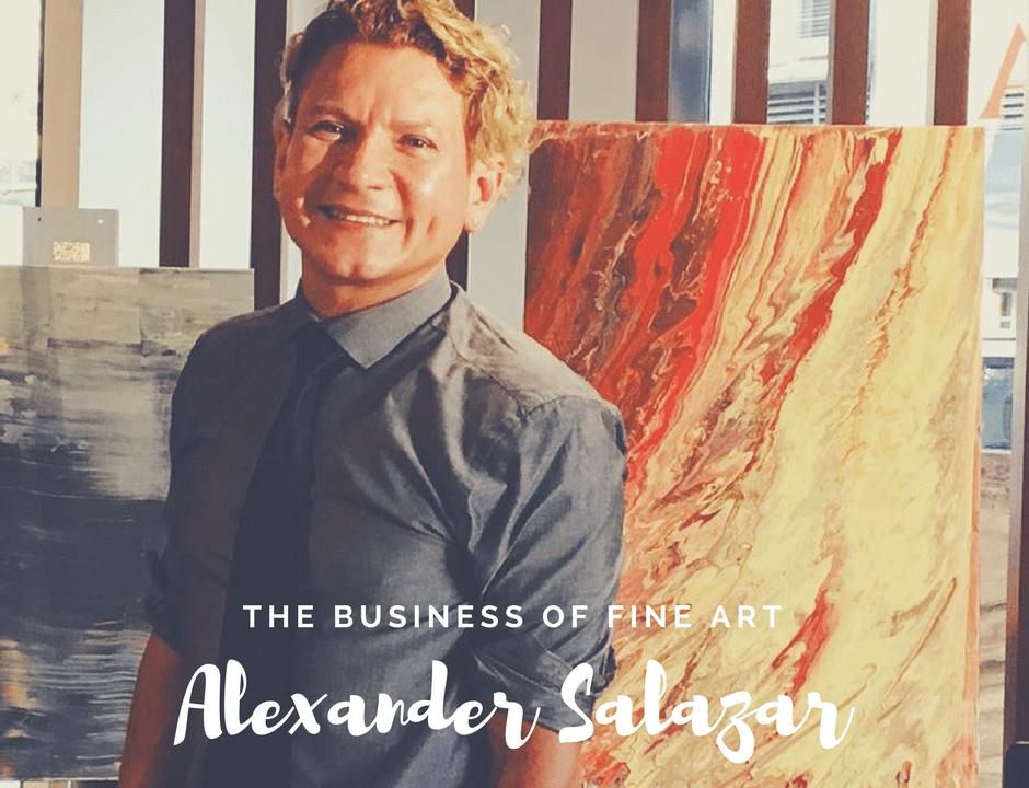 Alexander Salazar; San Diego Art Dealer, art