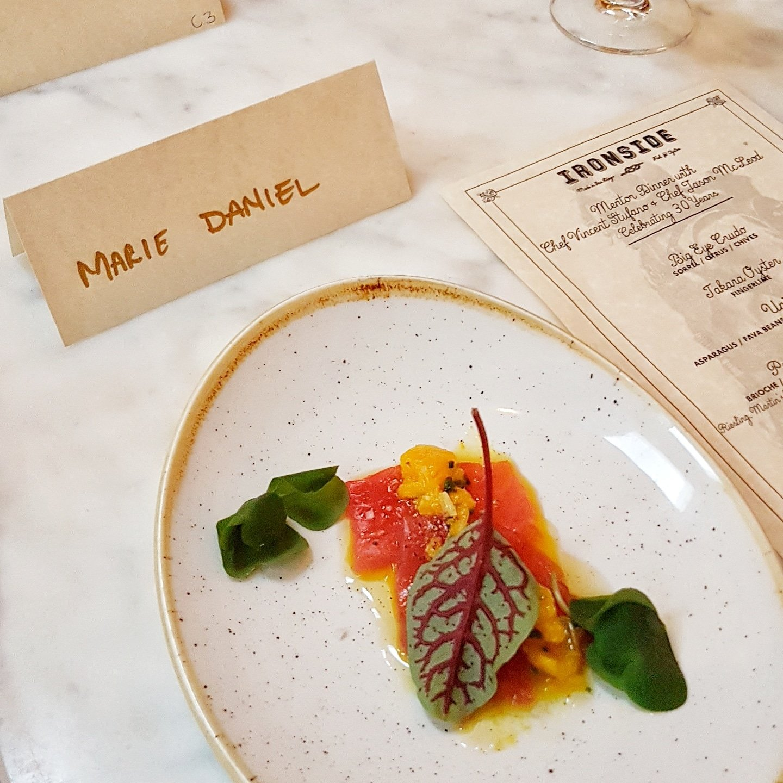 Chef Jason McLoed, Mentor Dinner, Little Italy, San Diego Dining