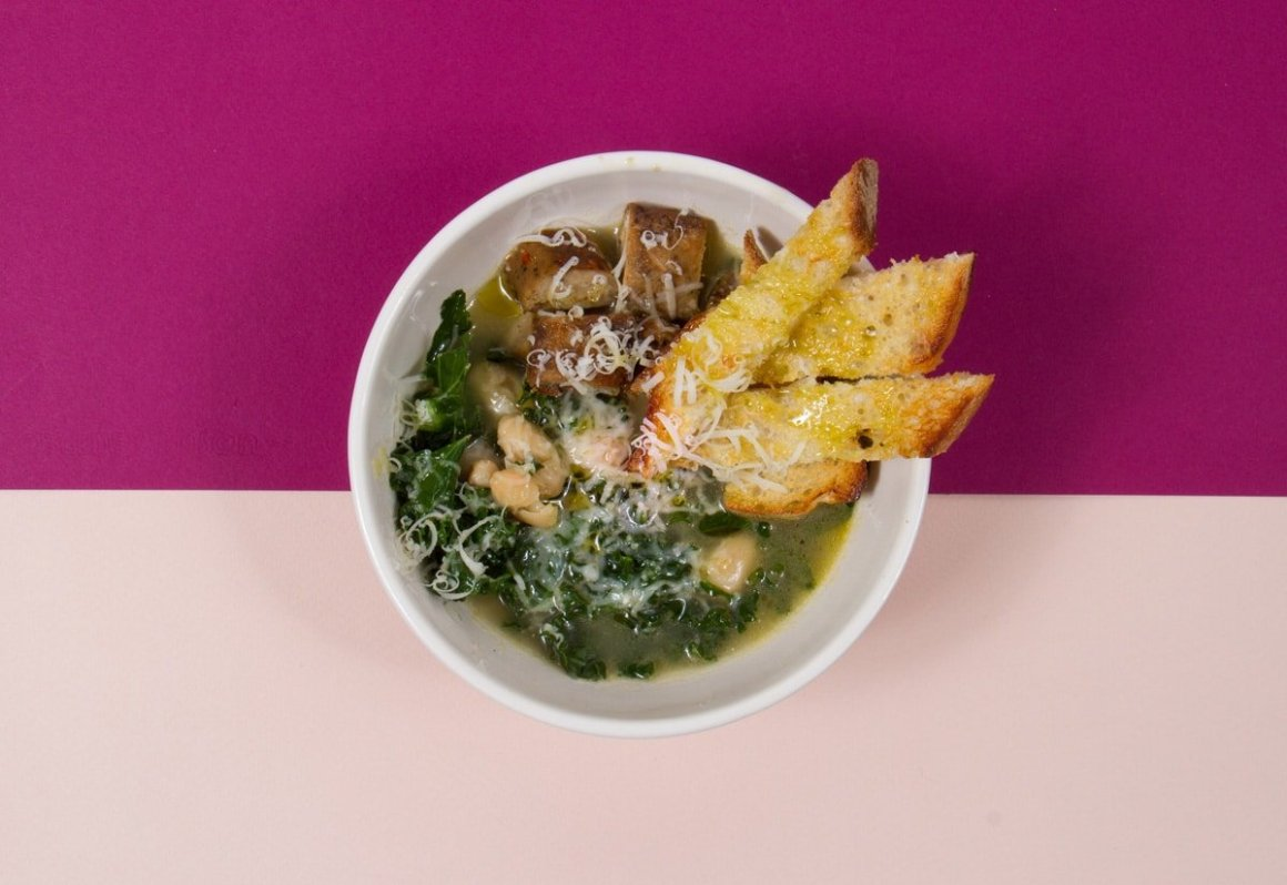Tuscan Cannabis Infused Soup - Photo by Darnell Scott