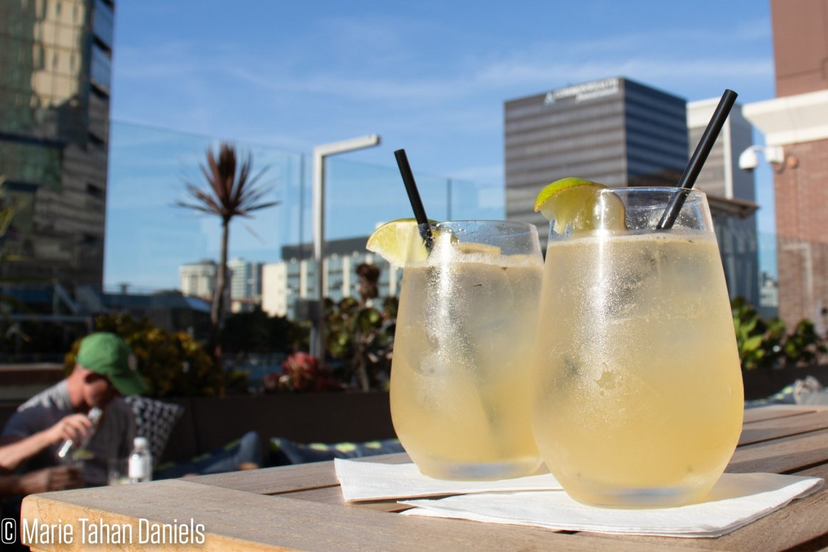 San Diego, Travel, Rooftop Cocktails Hotel Republic