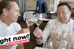 RIGHT NOW! A Chat with Chef Bernard Guillas & Chef Dean Max at SD Bay Wine & Food Fest
