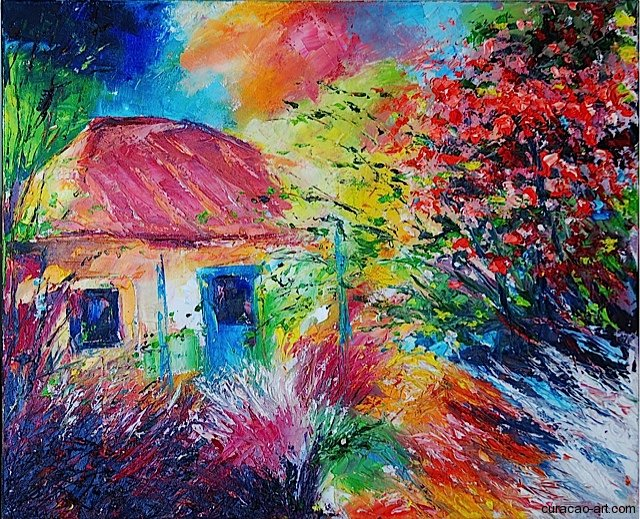 Artists Cottages Paintings