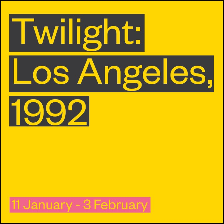 Twilight: Los Angeles, 1992 at The Gate Theatre