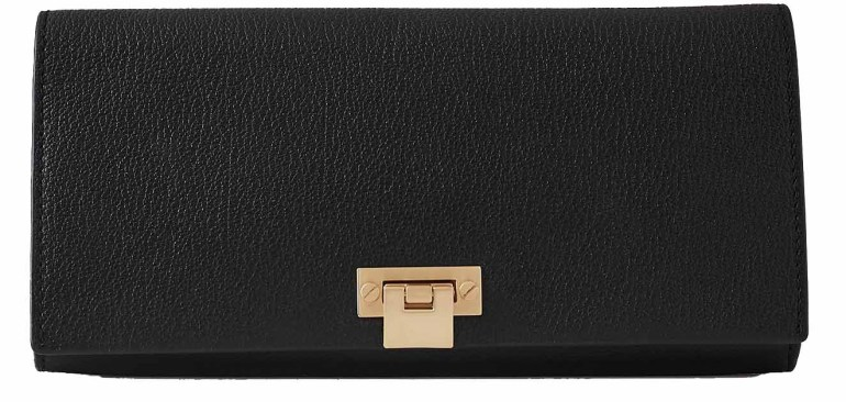 Audley Leather clutch