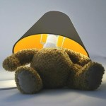Teddy Bear Lamp Shade  $160 – FREE US SHIPPING
